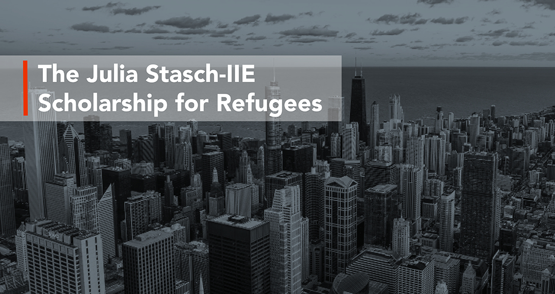 Julia Stasch-IIE Scholarship for Refugees