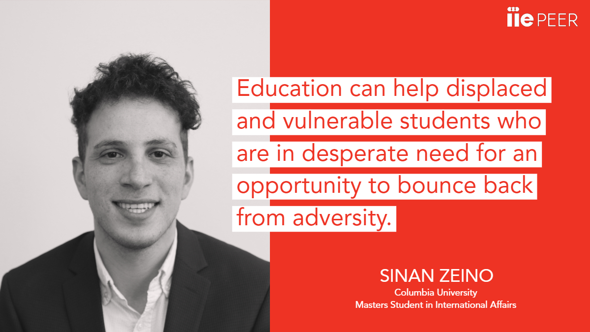 Sinan Zeino, Student Quotation